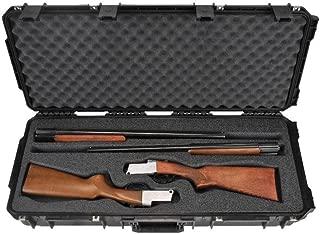 SKB Injection-Molded Double Custom Breakdown Shotgun Case, Black