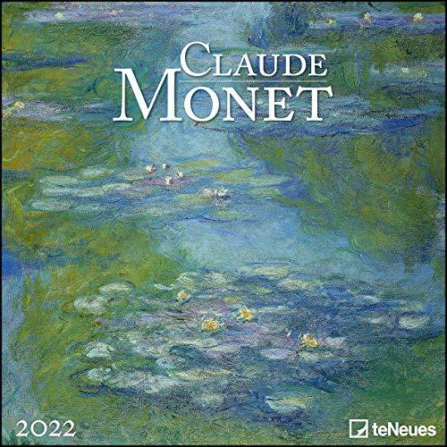 Claude Monet 2022 - Wand-Kalender - Broschüren-Kalender - 30x30 - 30x60 geöffnet - Kunst-Kalender