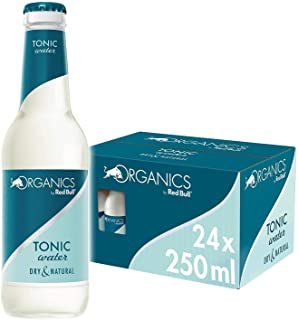 Organics by Red Bull, Tonic Water, Biologisch, 250ml (24-pack) 10,1 kg