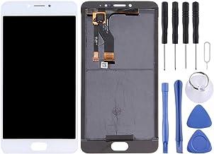 شاشة الهاتف المحمول LCD For Meizu M3 Note/Meilan Note 3 (China Version) LCD Screen and Digitizer Full Assembly(Black) شاشة عرض من الكريستال السائل (Color : White)