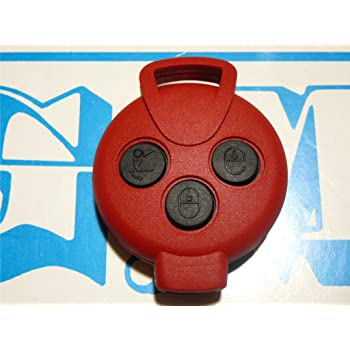 COVER NERA AD 1 TASTO SMART CHIAVE TELECOMANDO SCOCCA E LAMA controllare foto e dettagli compatibilit/à RETRO SENZA LOGO SMART449 G.M Production