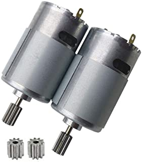 Weelye 2 Pcs Universal 550 20000RPM Electric Motor High Speed RS550 6V Motor Accessories for Kids Electric Cars Children R...