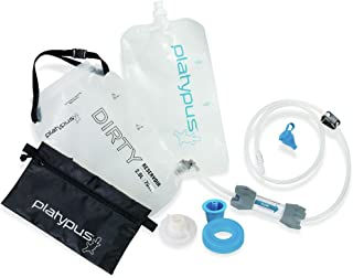 Platypus GravityWorks 2.0 Liter Complete Water Filter Kit for Camping and Backpacking, Compatible with Hydration Bladders ...