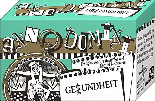 ABACUSSPIELE 09161 - Anno Domini - Gesundheit, Quizspiel, Schätzspiel, Kartenspiel