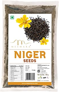 Mesmara Niger Seeds 400g (Karale / Karal / Ramtil / Blackseed / Surguja / Valesulu / Payellu / Yamitilla / Veri Nuvullu)