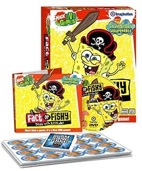 Toy Imagination Entertainment Spongebob Squarepants Fact or Fishy DVD Game Book