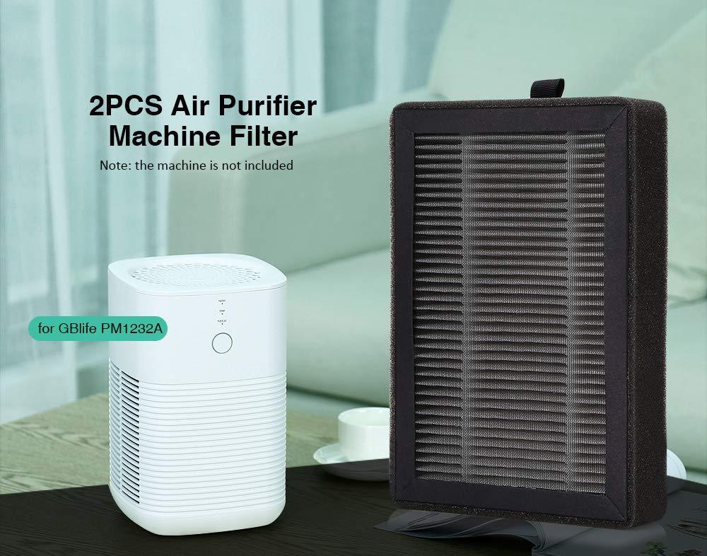 Filtro Purificador de Aire para GBlife PM1232, Filtro de Carbón ...