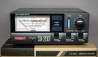 第一電波工業 ダイヤモンド  通過型SWR・パワー計 1.8~200MHz SX-200