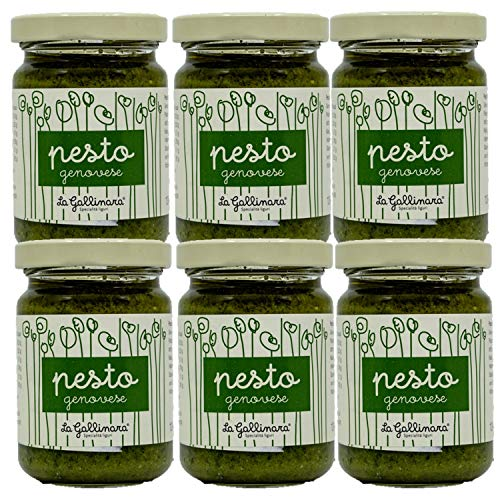 La Gallinara - Pesto alla Genovese - 6x 130 g