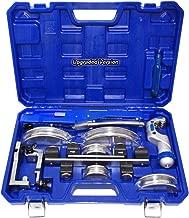 HVAC Refrigeration Ratchet Tube Bender & Pipe cutter Copper Aluminum Tubing Set with Reverse Bending 3/4'', 7/8'', 3/8'', 1/2'', 5/8'', 1/4'' 5/16''