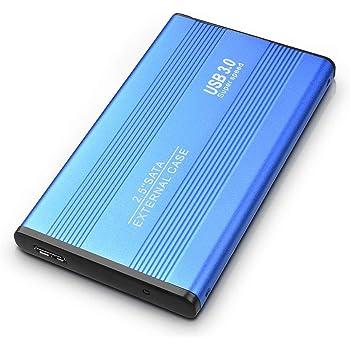 ASUME Disco Duro Externo para Mac, PC, Escritorio, portátil, MacBook, Chromebook, Xbox One, Xbox 360, PS4 (1TB, Azul): Amazon.es: Electrónica