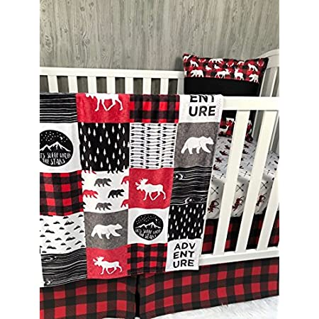 Deer Bear Moose Feathers Arrows Woods Wilderness Double Sided Minky Blanket Nursery Crib Toddler Baby Girl Child Teen Adult *Made To Order*