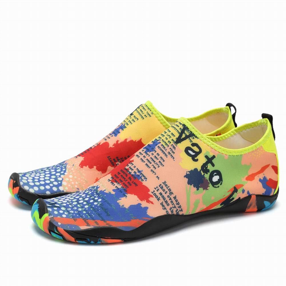Mioloe Zapatillas de Agua A pies Desnudos Ligero Aerobic Zapatos natación Running Surf guía Buceo Kayak Playa Yoga Zapatos, 01#, 43: Amazon.es: Deportes y aire libre