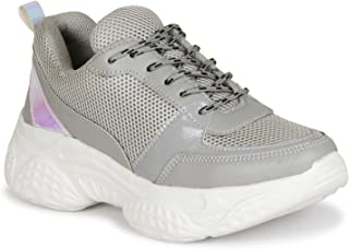 SIRDENILL Women Sports Casual Laceup Shoes