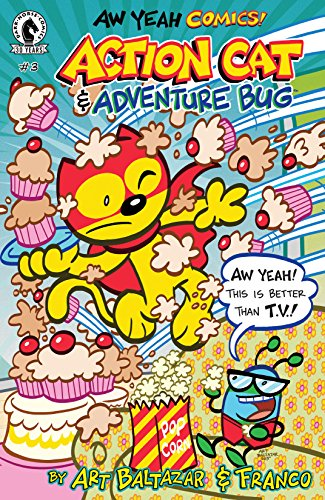 Aw Yeah Comics: Action Cat & Adventure Bug #3 (English Edition)
