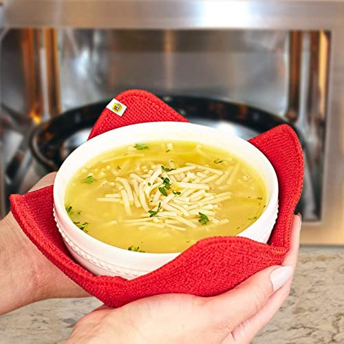 high quality Old Home Kitchen Microwave Fabric Bowl Hugger new arrival Set - Carry Your Hot Dishes outlet sale Easily online sale