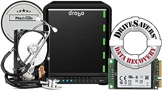 Drobo 5D3 Platinum Edition: 5-Drive Direct Attached Storage (DAS) Array – Dual Thunderbolt 3 and USB 3.0 Type C Ports (DRDR6A21-P)