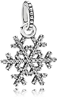 pandora snowflake charm 2013