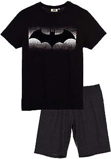 Suncity Pijama Verano Adulto Batman Talla L Negro