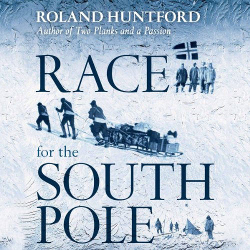 Race for the South Pole audiobook cover art
