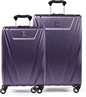 Travelpro Maxlite 5-Hardside 2 Piece Set with Spinner Wheels, Imperial Purple, (21/25)