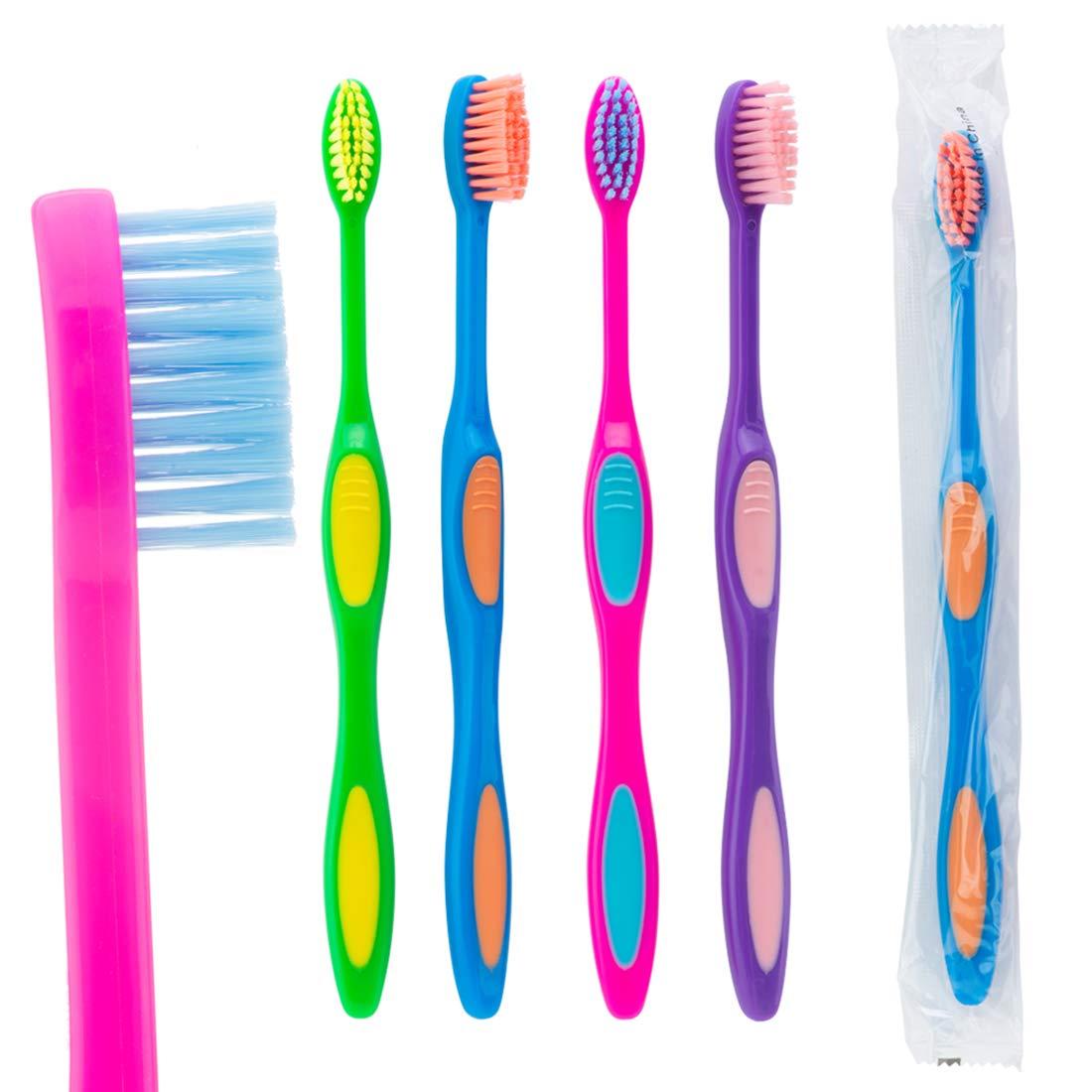 Oraline Genuine Pre-teen Sparkle Popular Grip Toothbrushes - Dental Prod Hygiene