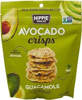 Hippie Snacks, Avocado Crisps, Guacamole, 2.5oz