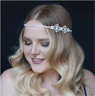 Best rhinestone flapper headband Reviews