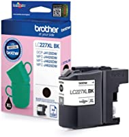 Brother LC-227XLBK Inkjet Cartridge, Black, Single Pack, High Yield, Includes 1 x Inkjet Cartridge, Brother Genuine Supplies