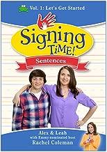 Signing Time Sentences 1: Let's Get Started (DVD)