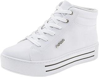 e6e4094f6 Tênis Feminino Cano Alto Kolosh - C1842 Branco