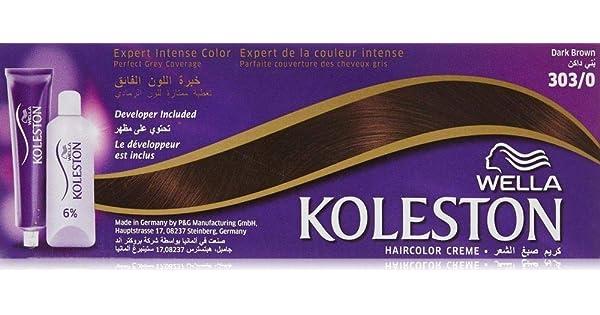 كريم صبغة الشعر من ويلا كوليستون بني داكن 303 0 اشتري اون لاين بأفضل الاسعار في السعودية سوق كوم الان اصبحت امازون السعودية