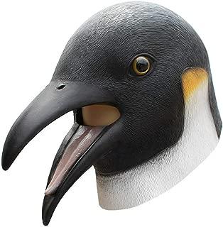 myonly Halloween Party Dance Sharp Mouth Bird Head Party Funny COS Mask Animal Penguin Shaped Latex Headgear Holiday