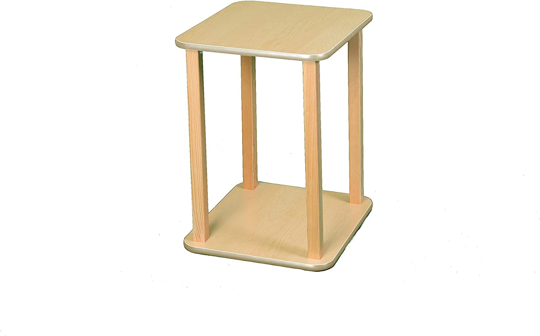Wild Zoo Furniture CPU and Printer Stand, Maple Tan
