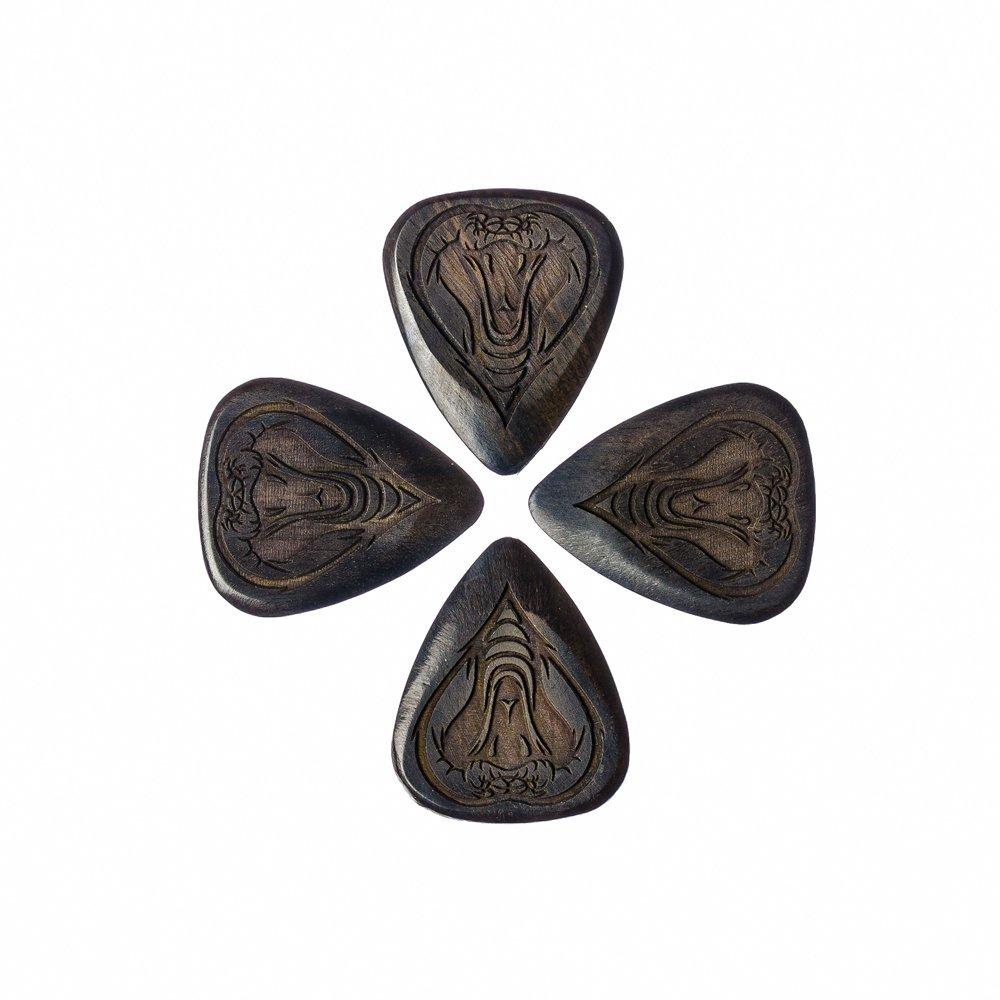 Tattoo Tones TAT-COBH-4~Cobra - Juego de 4 púas para guitarra ...