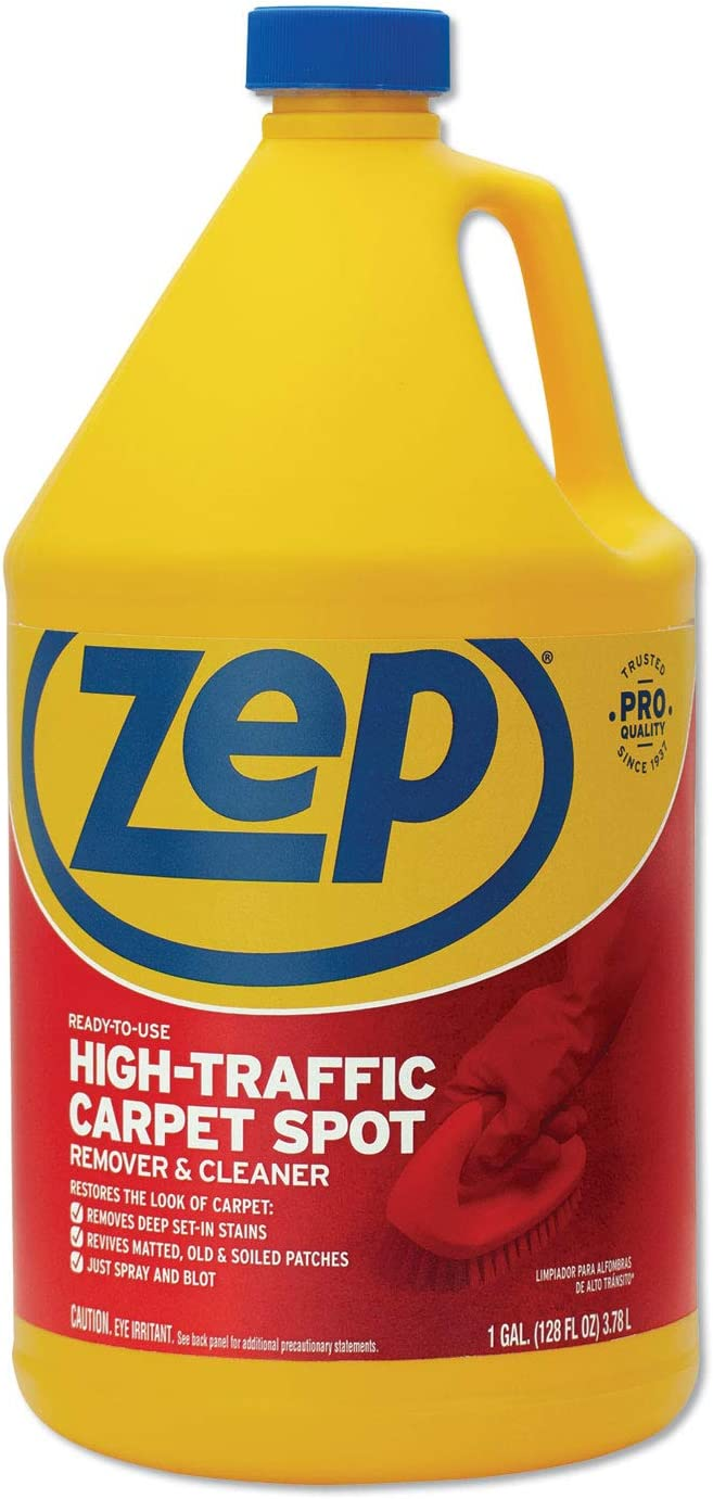 Zep Commercial Zuhtc128 1 Gallon Dealing full price reduction Carpet Traffic Special price for a limited time High Cleaner