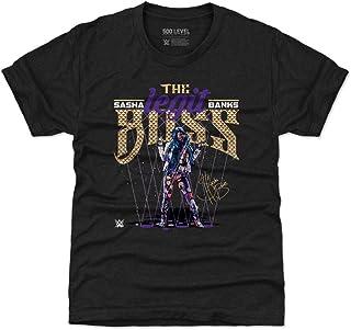 500 LEVEL Sasha Banks WWE Kids Shirt - Sasha Banks Legit Boss Lights