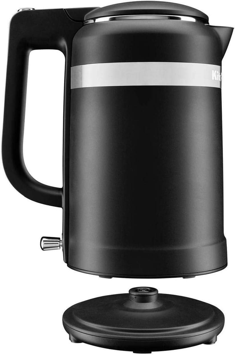 KitchenAid Design Collection Wasserkocher 1,5 l Matt Schwarz