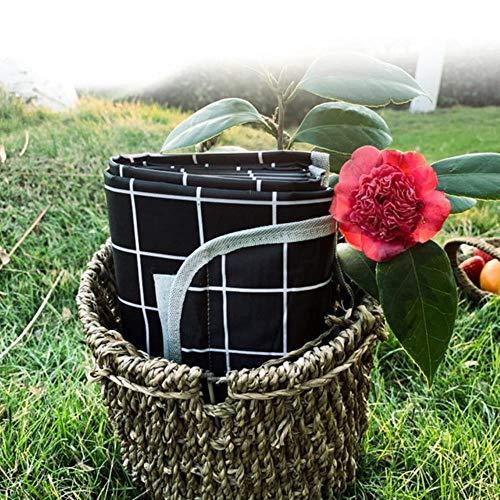 Colchoneta impermeable para camping, manta de playa al aire libre portátil para picnic al aire libre Camping Picnic Mat Manta para juegos de césped