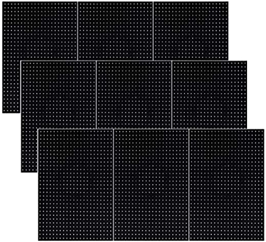 ✅Pegboard Panels Wall Storage Kit in 48″- 72″ Widths Panel Set Garage Organizer (12) #Tools & Home Improvement Hardware