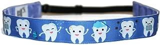 BEACHGIRL Bands Headband Adjustable No-Slip Hair Band For Women & Girls Tooth Fairy Blue