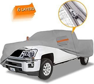 Big Ant Truck Cover All Weather Protection 100% Waterproof Pickup Truck Cover Custom Fit for Full Size Truck with Short Long Crew Cab up to 249