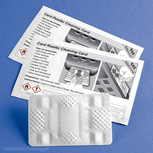 Waffletechnology Reinigungskarten-Set | Rechnungsakzeptor (KW3-BMB15M) und Kartenleser (KW3-HSCB40) Reinigungskarte (1)