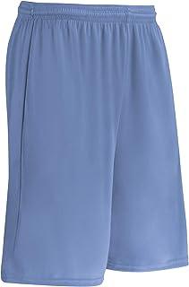 Champro Clutch Z-Cloth Dri-Gear® Short; Adult, Light Blue, Large