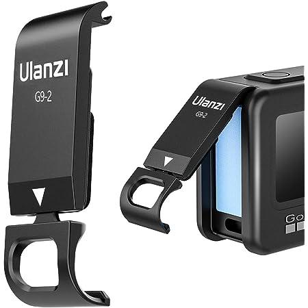 Ulanzi G9 2 Batteriefachdeckel Abnehmbarer Ladeanschluss Adapter Aluminium Für Gopro Hero Schwarz 9 Sport Freizeit
