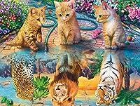 木製パズル猫ドリームパズル2000ピース2000ピース