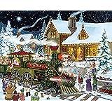 Gonmeld サンタクロースメリークリスマスパズル1000個