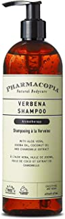Pharmacopia Verbena Shampoo – Aromatherapy Hair Care with Natural & Organic Ingredients – Vegan, Cruelty Free, Aromatic Shampoo, 16oz