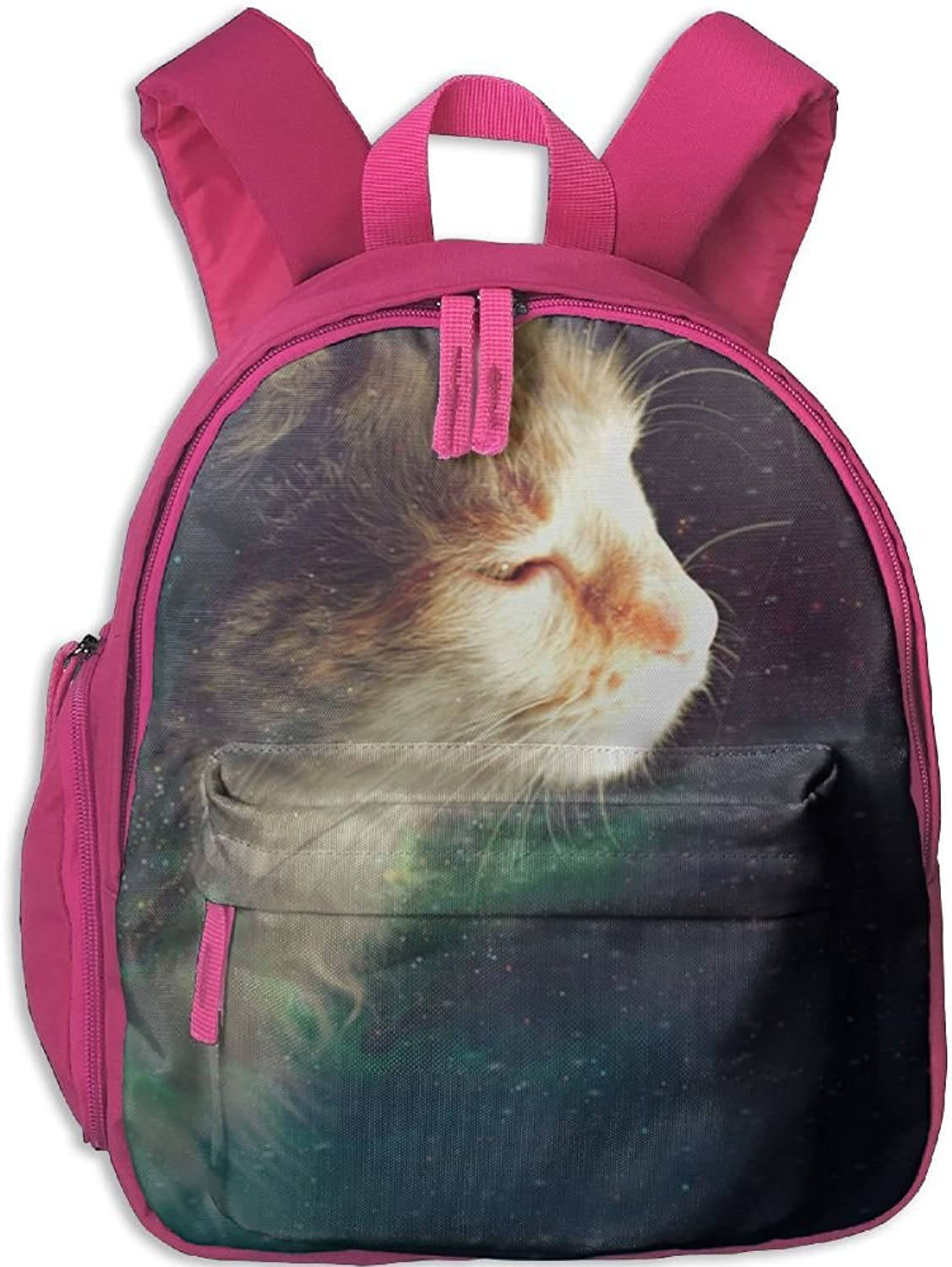 Pinta Star Cat Cub Cool School Book Bag Backpacks for Girl's Boy's