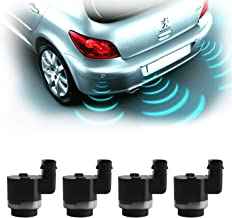 Monrand 4pcs Backup Reverse Parking Sensor Replacement for BMW X3 X5 X6,PDC Parking Distance Control Replace OE# 66209139868 66209231287